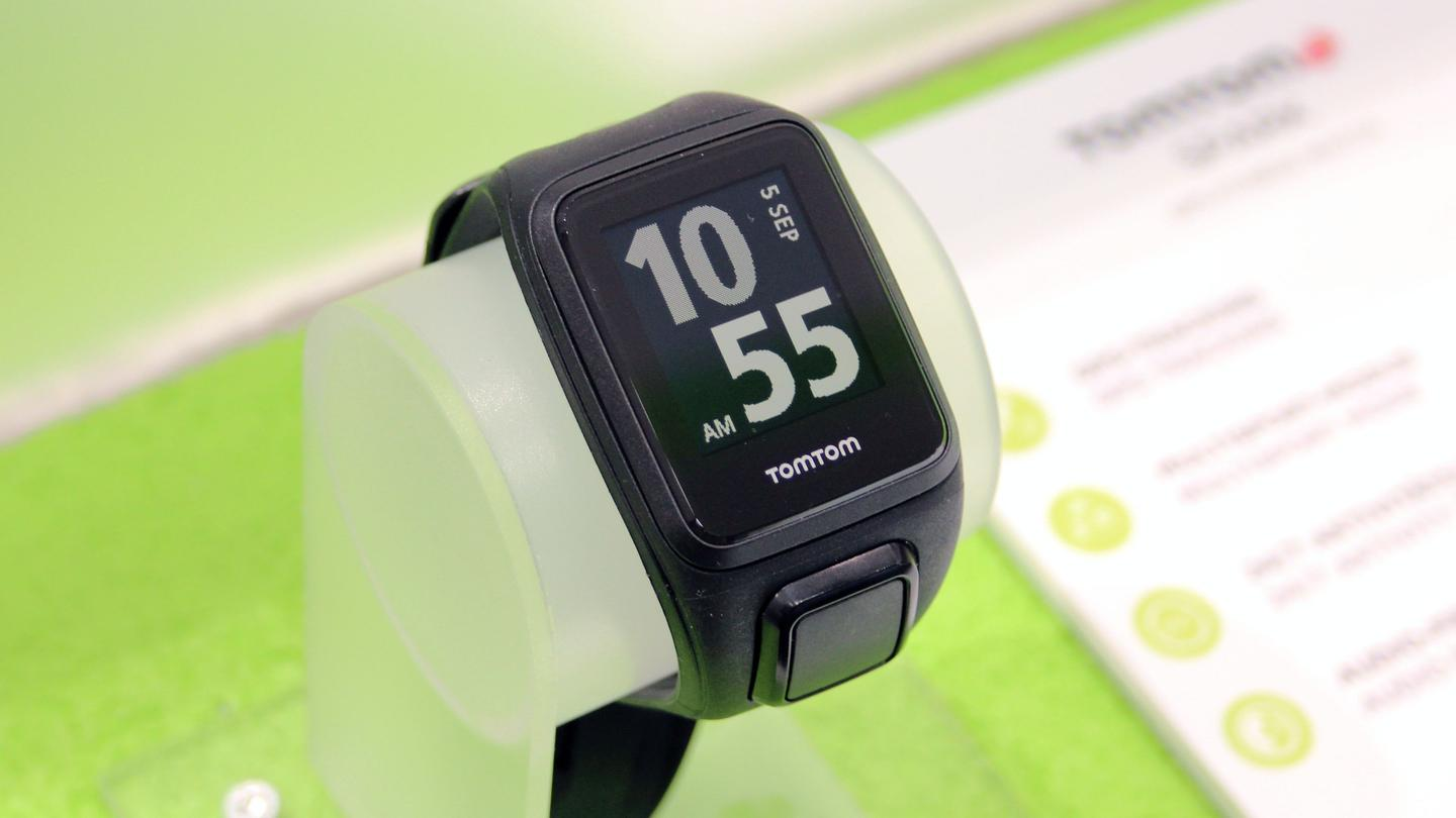The TomTom Spark fitness tracking watch can store around 500 music tracks