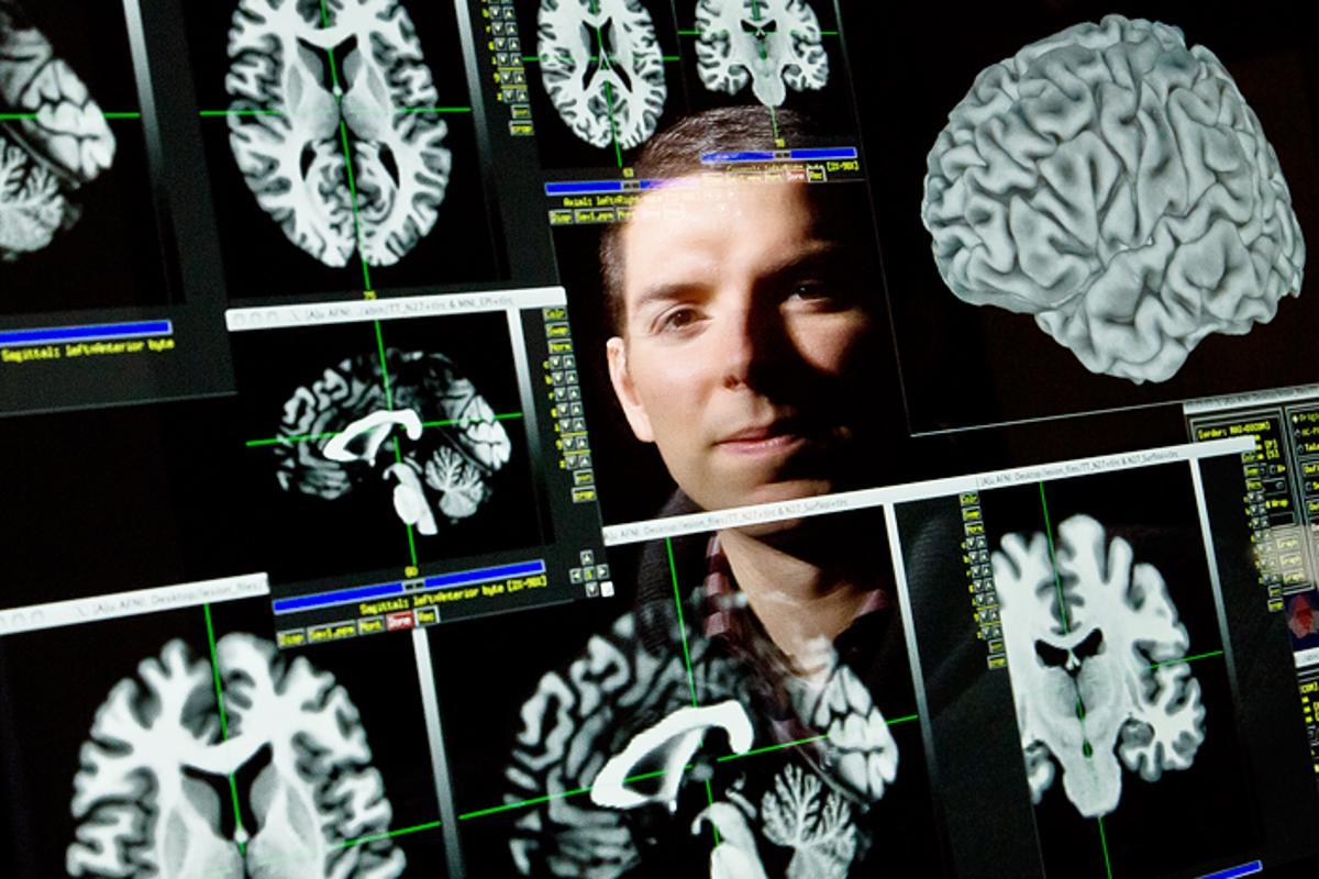 University of Illinois neuroscience professor Aron Barbey