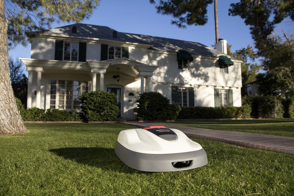 Honda's Miimo is set to tackle lawns in the US