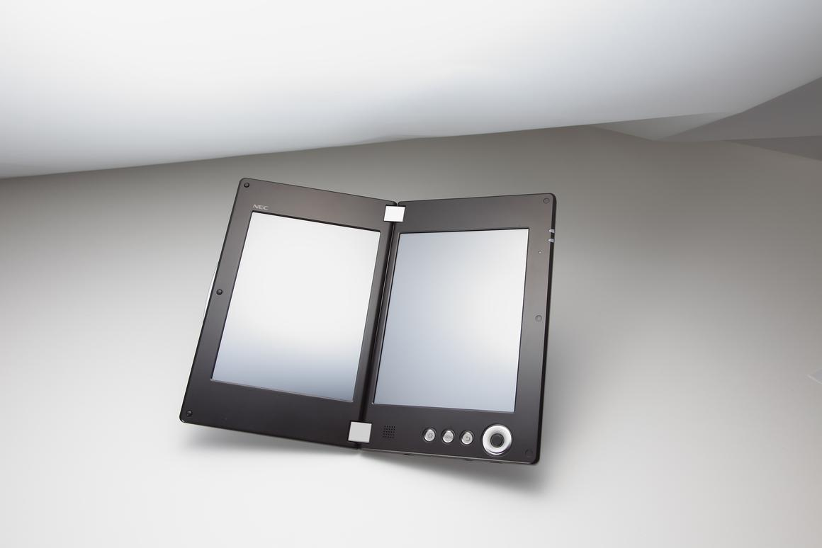 NEC has brought its Cloud Communicator Tablets to CES, one of which sports a double helping of touch screen technology