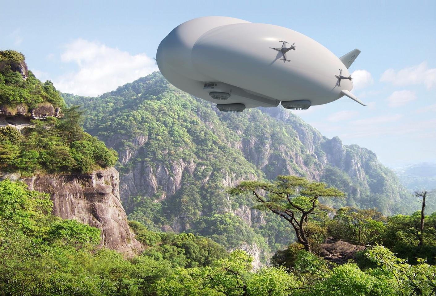 Lockheed Martin's Hybrid Airship is one beast of a heavy hauler