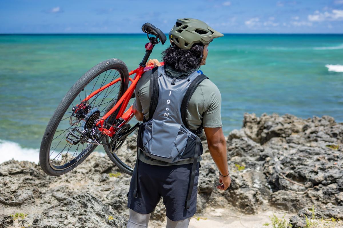 The Honu backpack is presently on Kickstarter