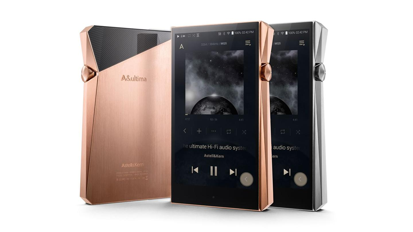 Astell&Kern's newest flagship music player offers high specs for a high price tag