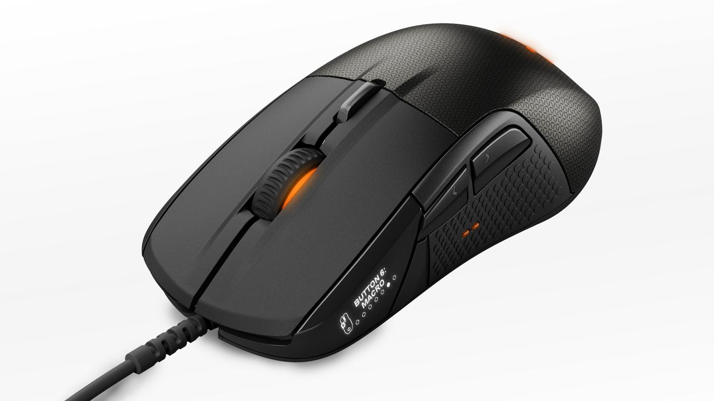 "Described as the ""first smart gaming mouse,"" the Rival 700 provides high levels of customization and upgradability"