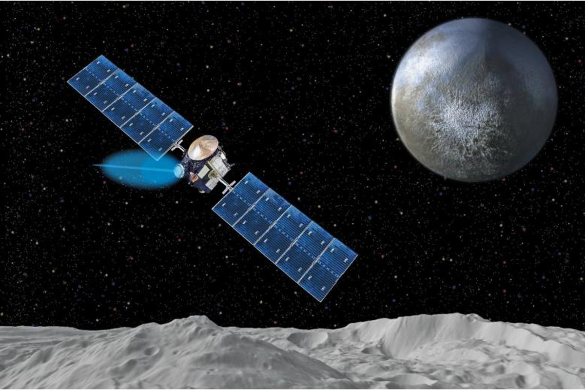 After 14 months spent collecting data on the asteroid Vesta, Dawn will soon start its journey toward the dwarf planet Ceres (Image: JPL/NASA)
