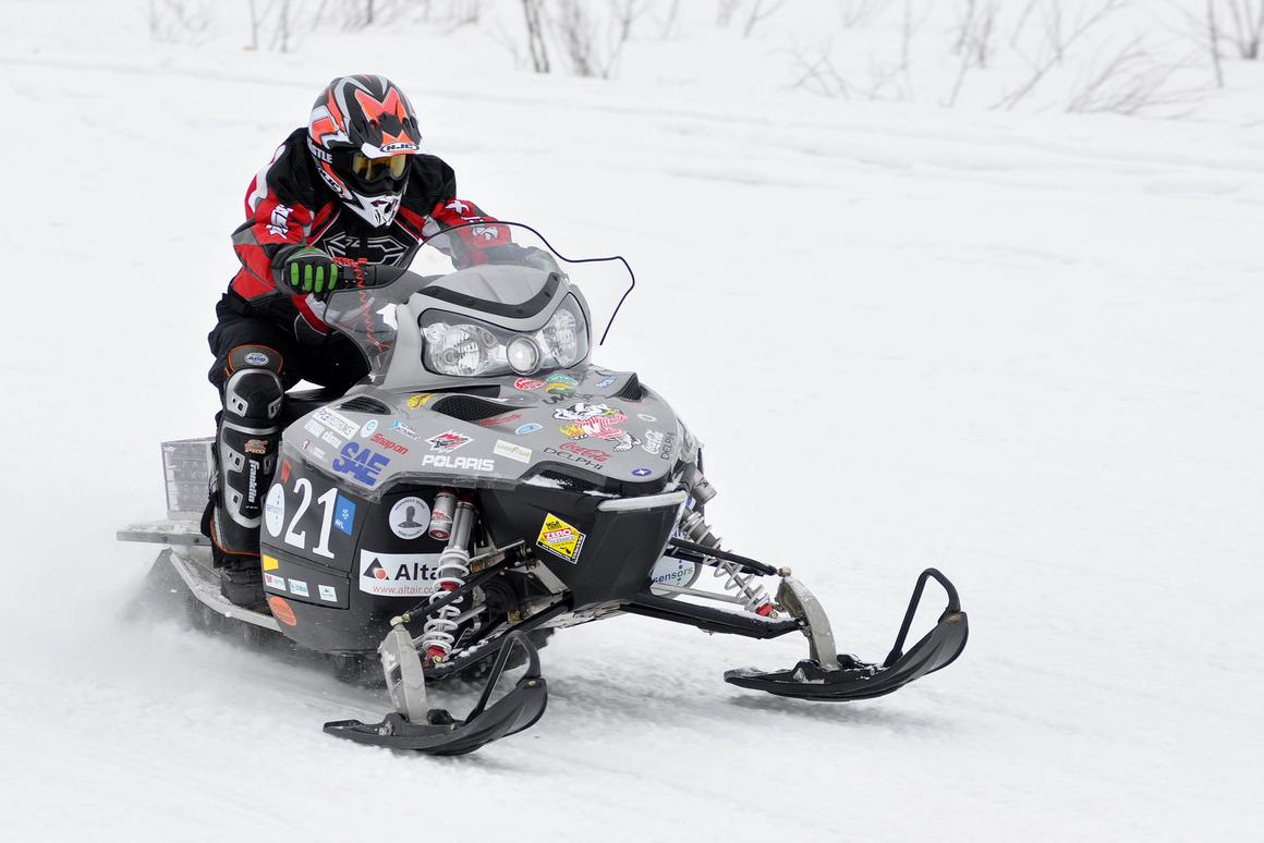 University of Wisconsin - Madison's entry in the 2011 Clean Snowmobile Challenge (Image: MTU KRC)