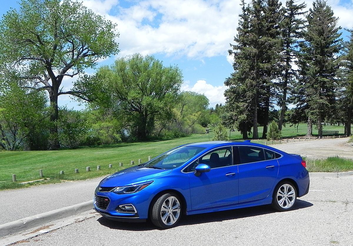 Most notable about the new Cruze is the exterior styling