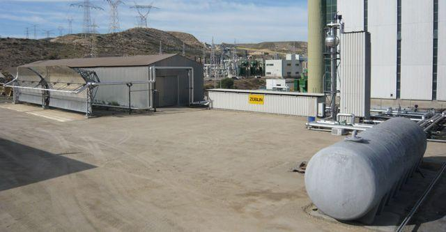 The Carboneras plant's latent heat storage system