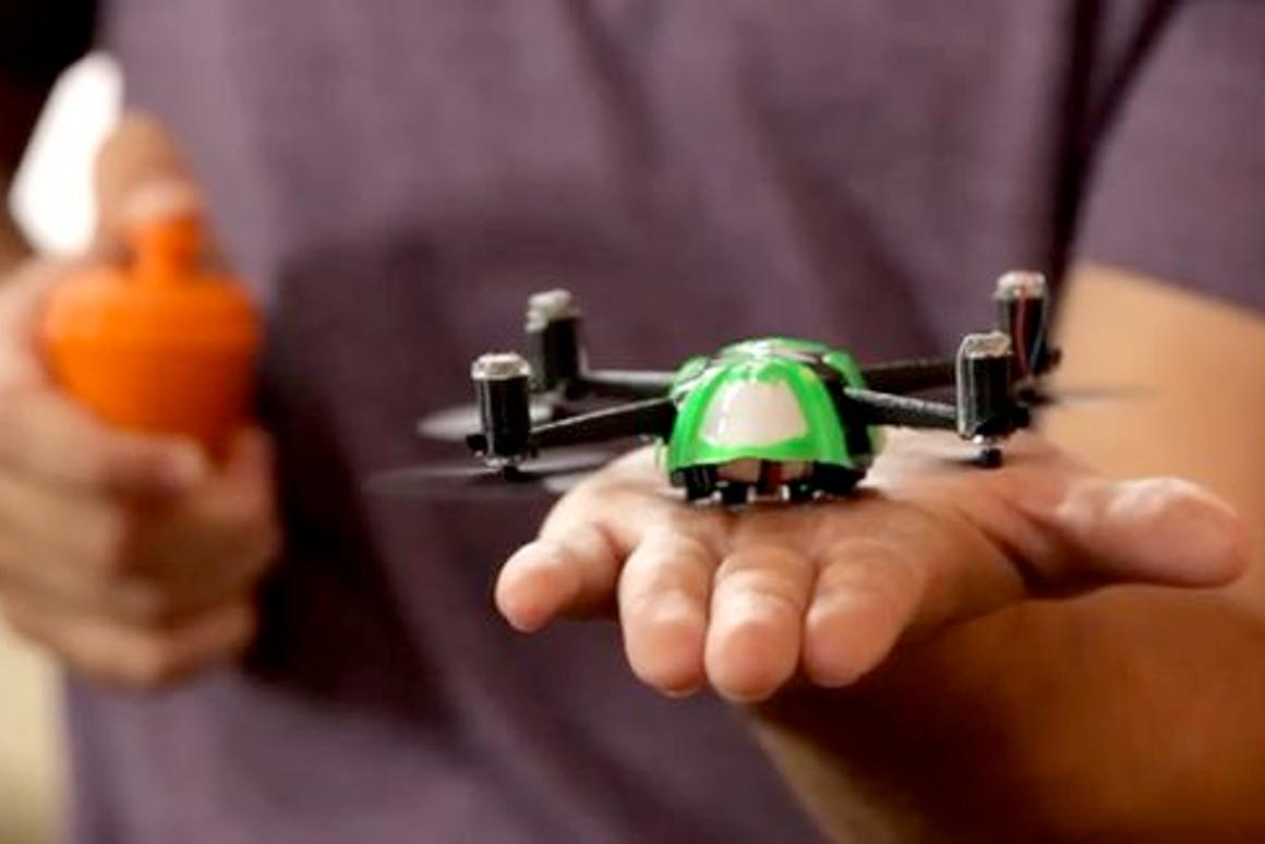 QFO Labs' NanoQ, about to take flight