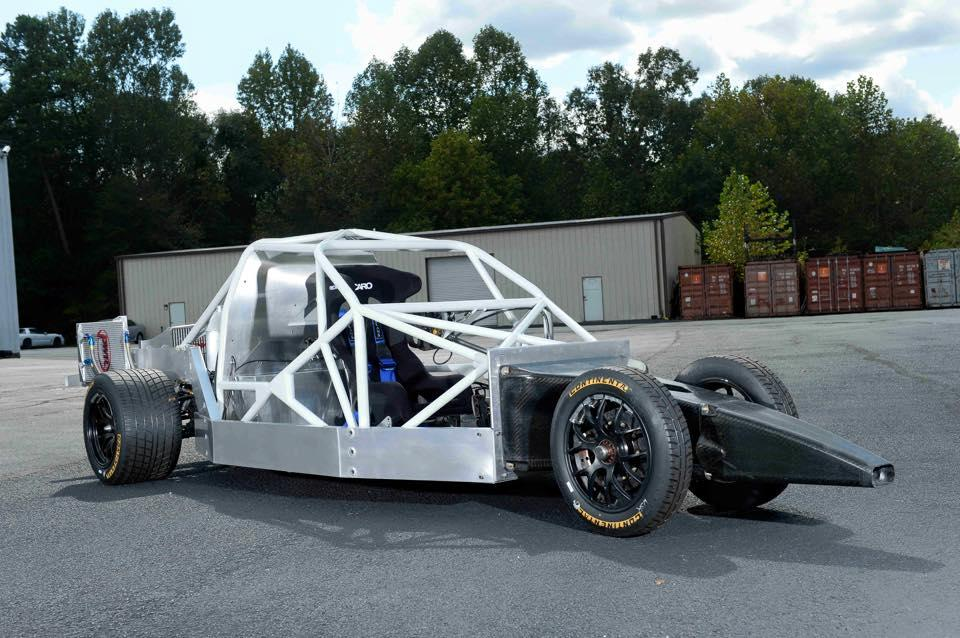This GT race car concept chassis serves as the foundation for the road car's architecture