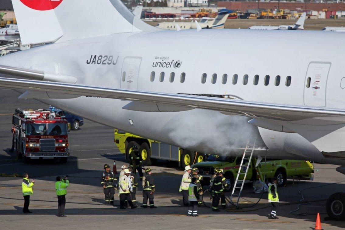 The Boeing 787 Dreamliner aircraft initially suffered from problems with its lithium-ion batteries overheating, on two occasions resulting in fires