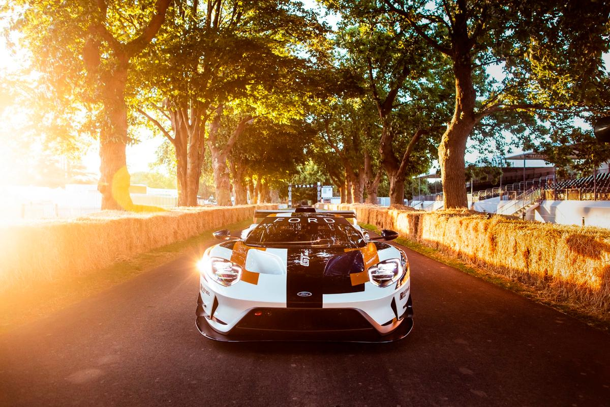 Ford has rolled into this year's Goodwood Festival of Speed looking to flex its performance muscles with a special edition GT supercar built exclusively for the track