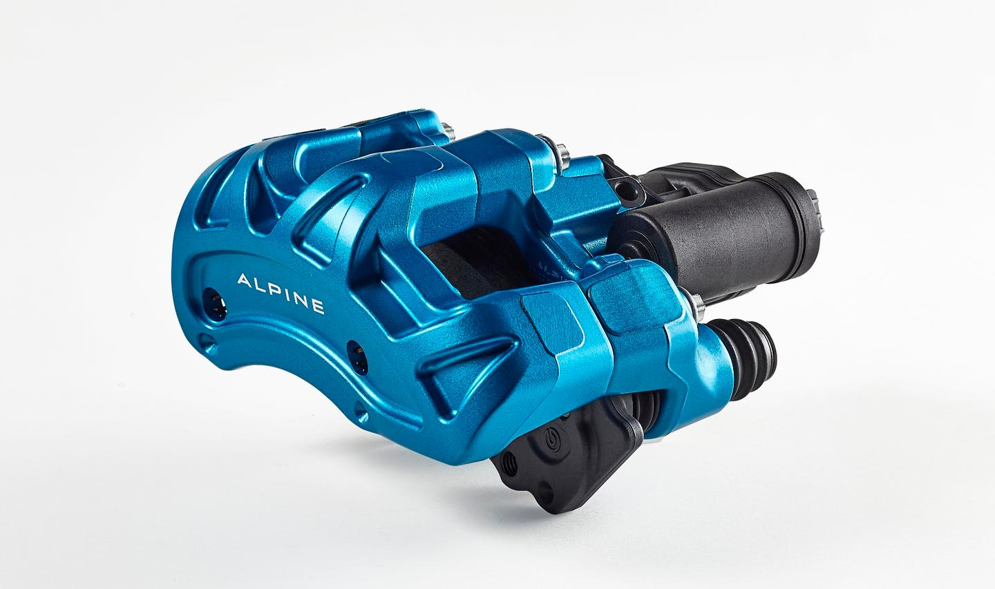 The new Brembo ECS system will debut in the Alpine