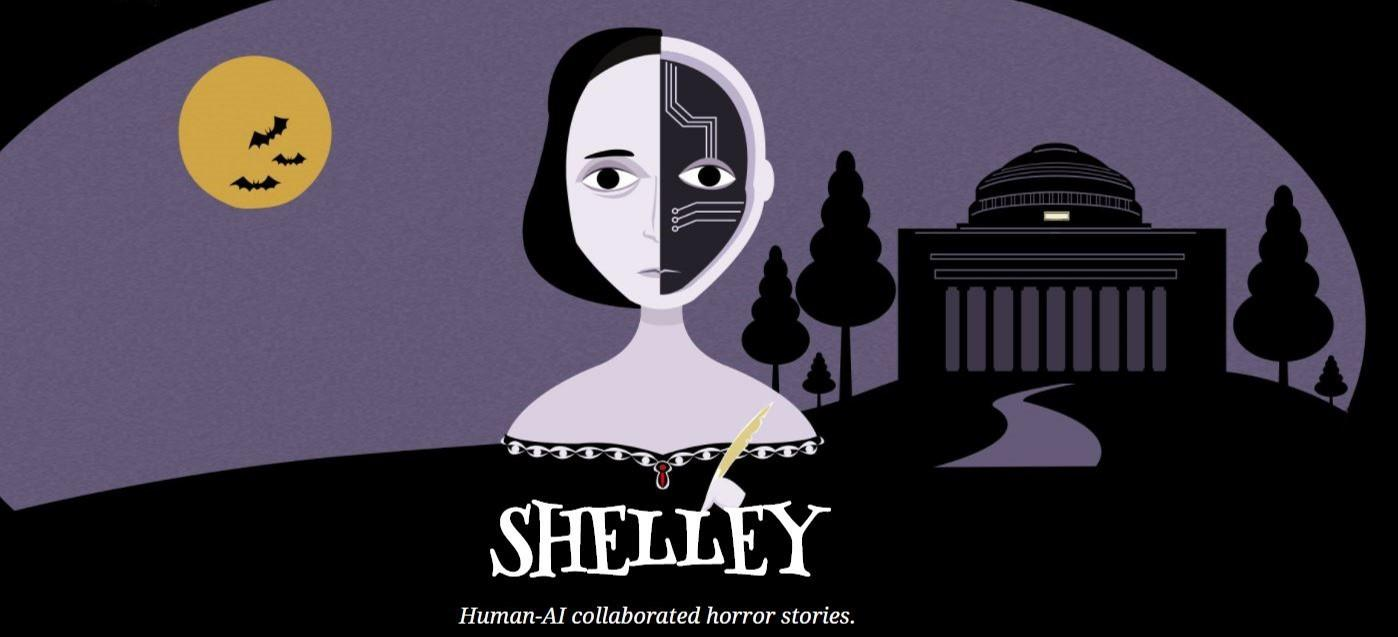 Shelley is an AI created to collaborate with humans in writing horror stories