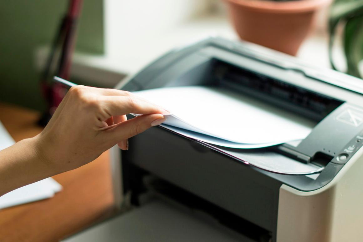 The process allows one sheet of paper to be printed upon and then unprinted up to five times