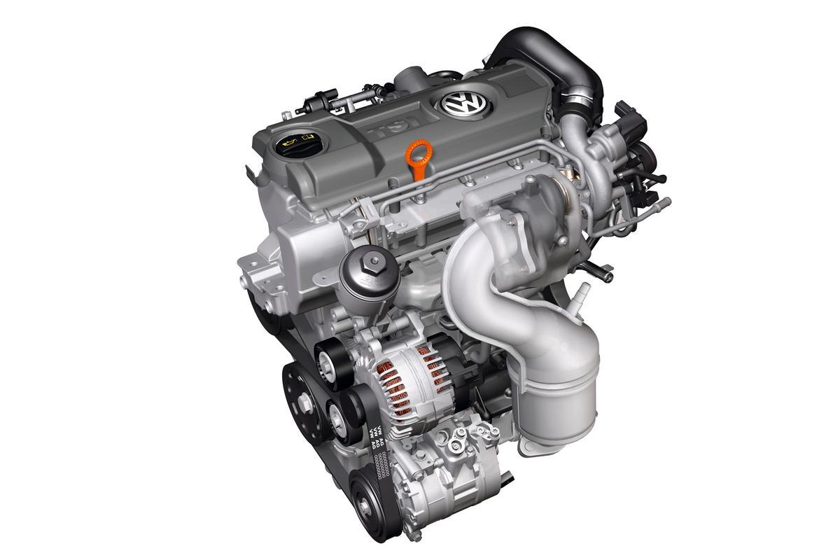 Volkswagen's 1.4-liter TSI Twincharger