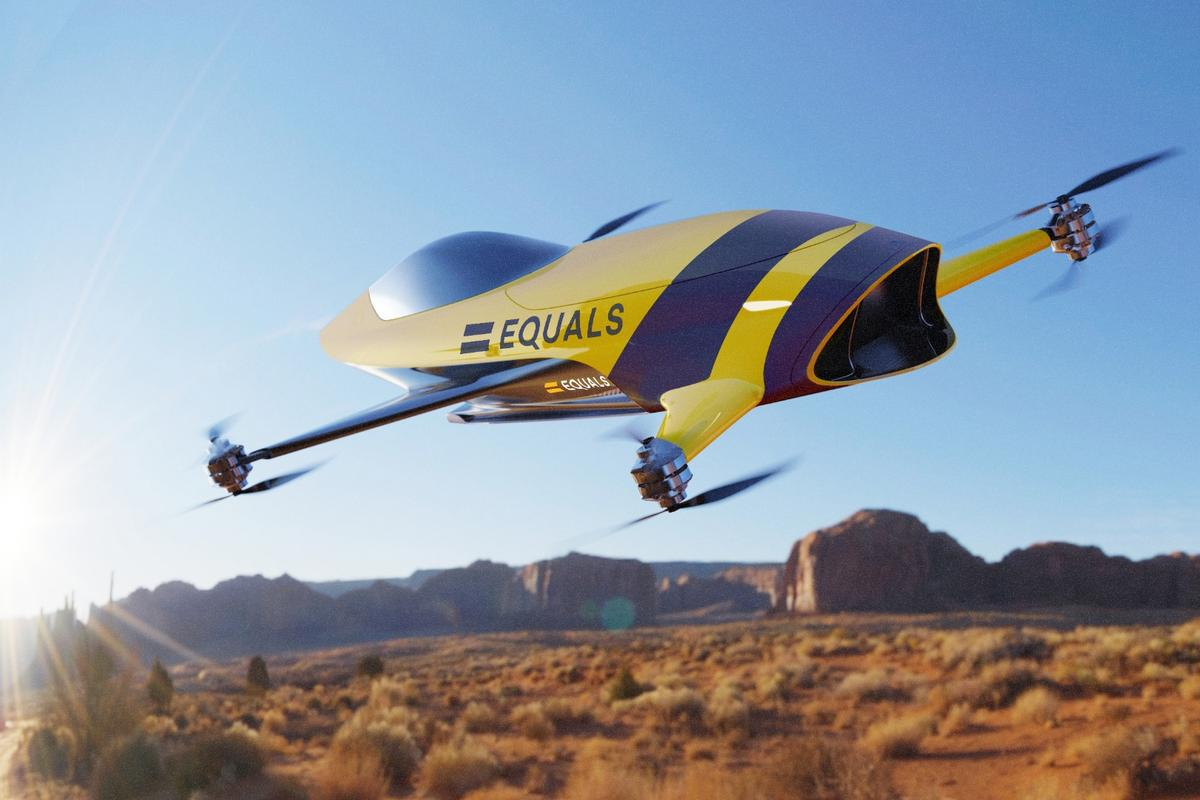 Airspeeder plans to kick off manned multicopter racing in 2020, including head-to-head racing