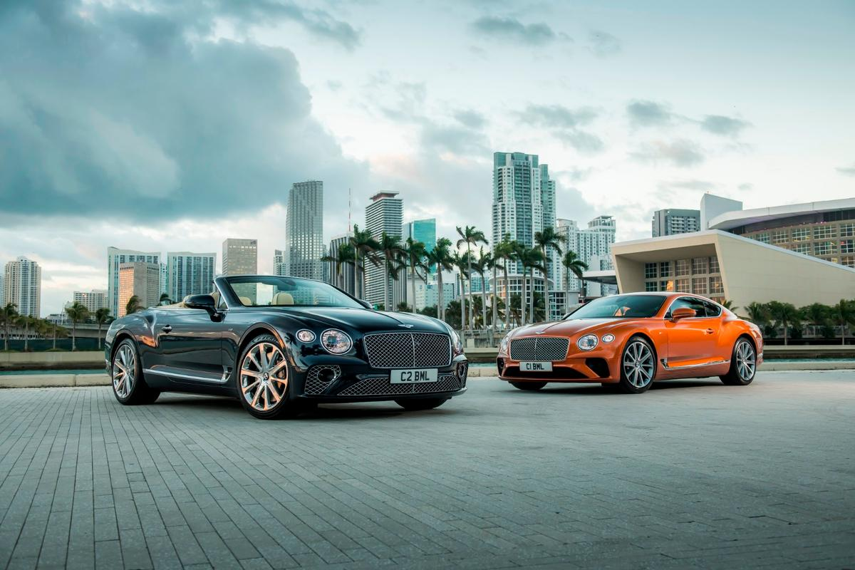 The V8 versions of the Continental GT and GT Convertible will be lighter, more economical, better sounding and probably more fun to drive than the big, heavy, smooth V12s