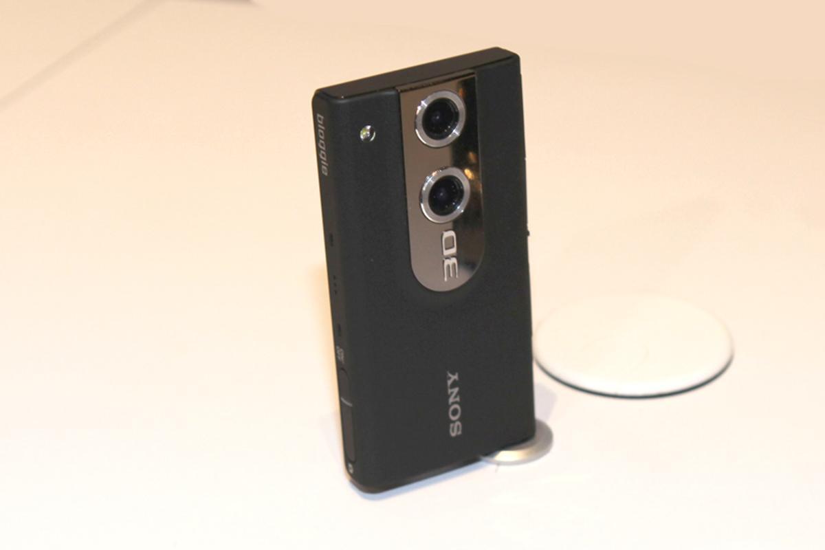 Sony Bloggie pocket-camcorder goes 3D