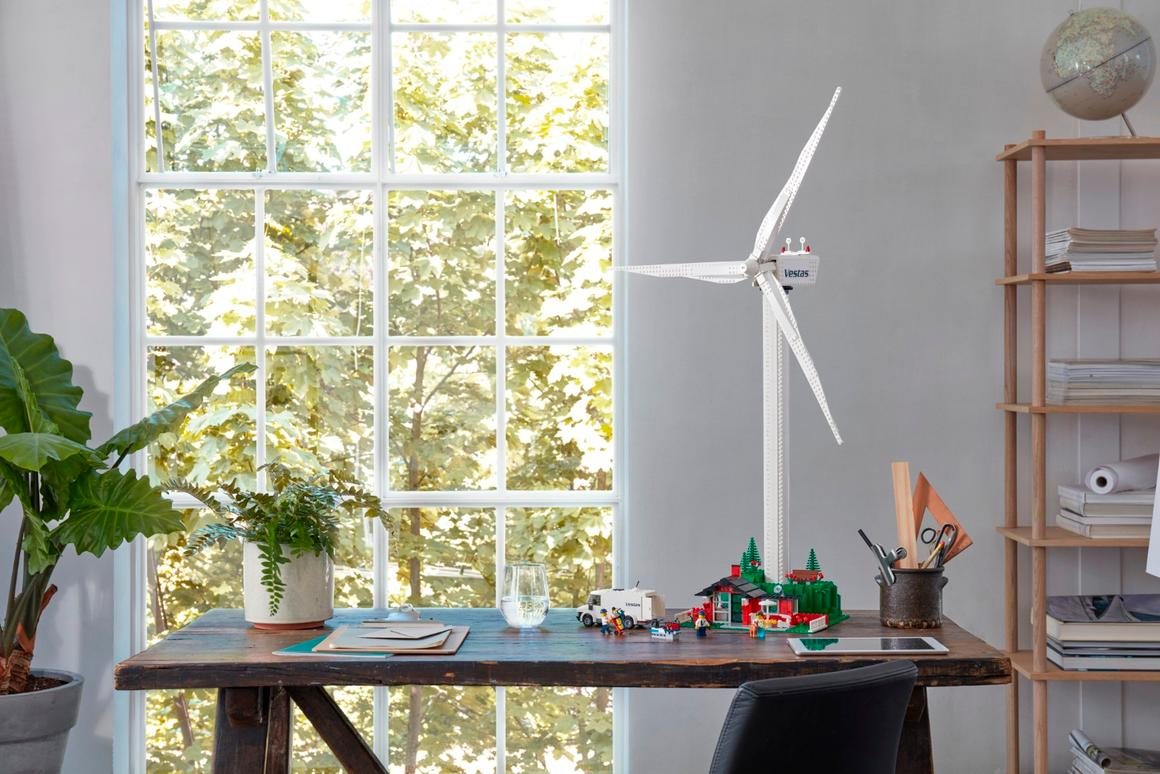 Lego'sVestas Wind Turbine set