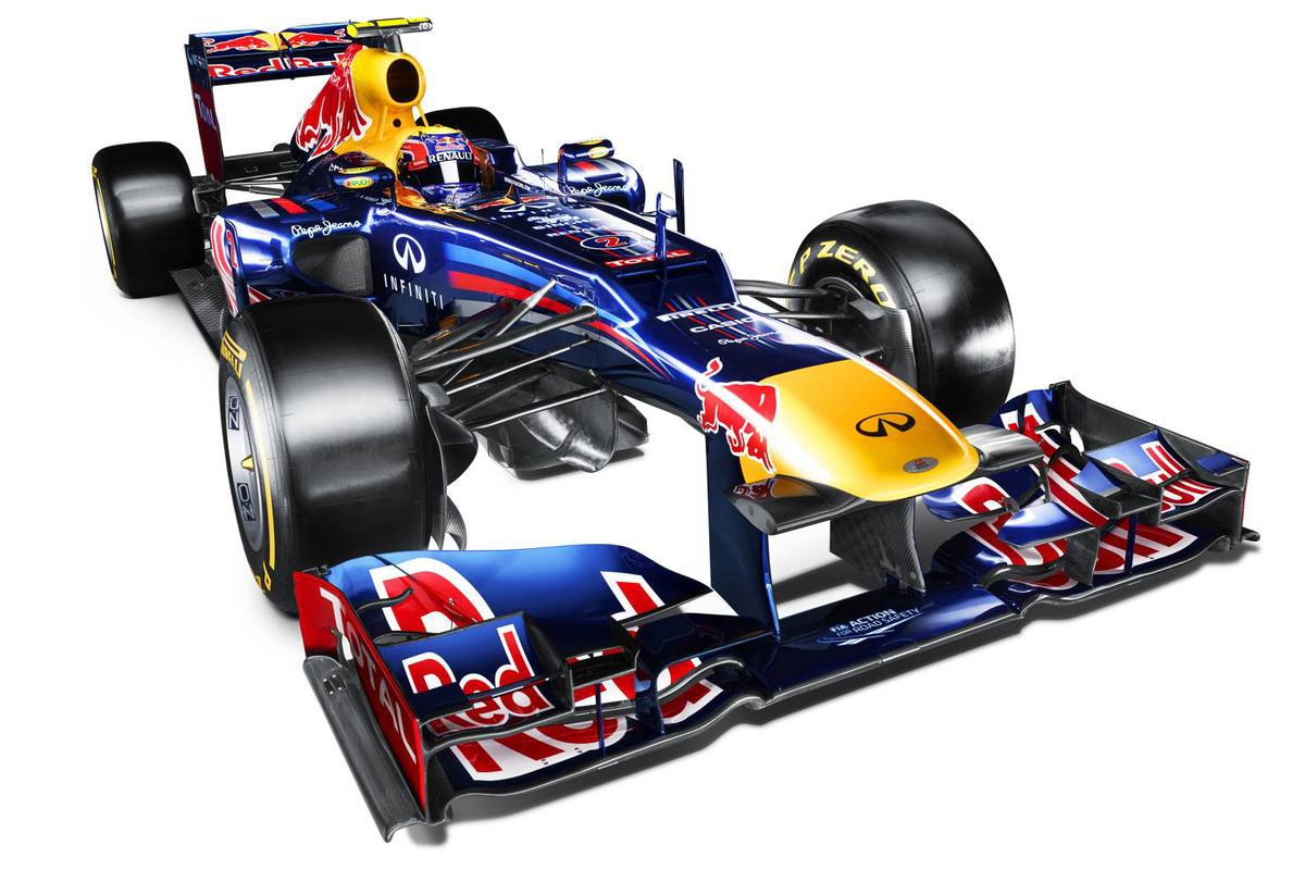 Red Bull Racing's Renault-powered RB8