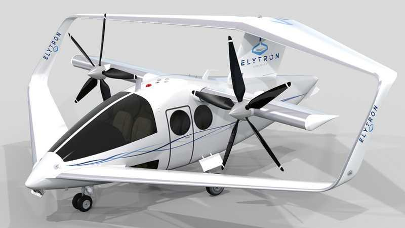VTOL Aerospace's larger mannedmodel designed to hold anywhere from 4 to 10 passengers, depending on the model