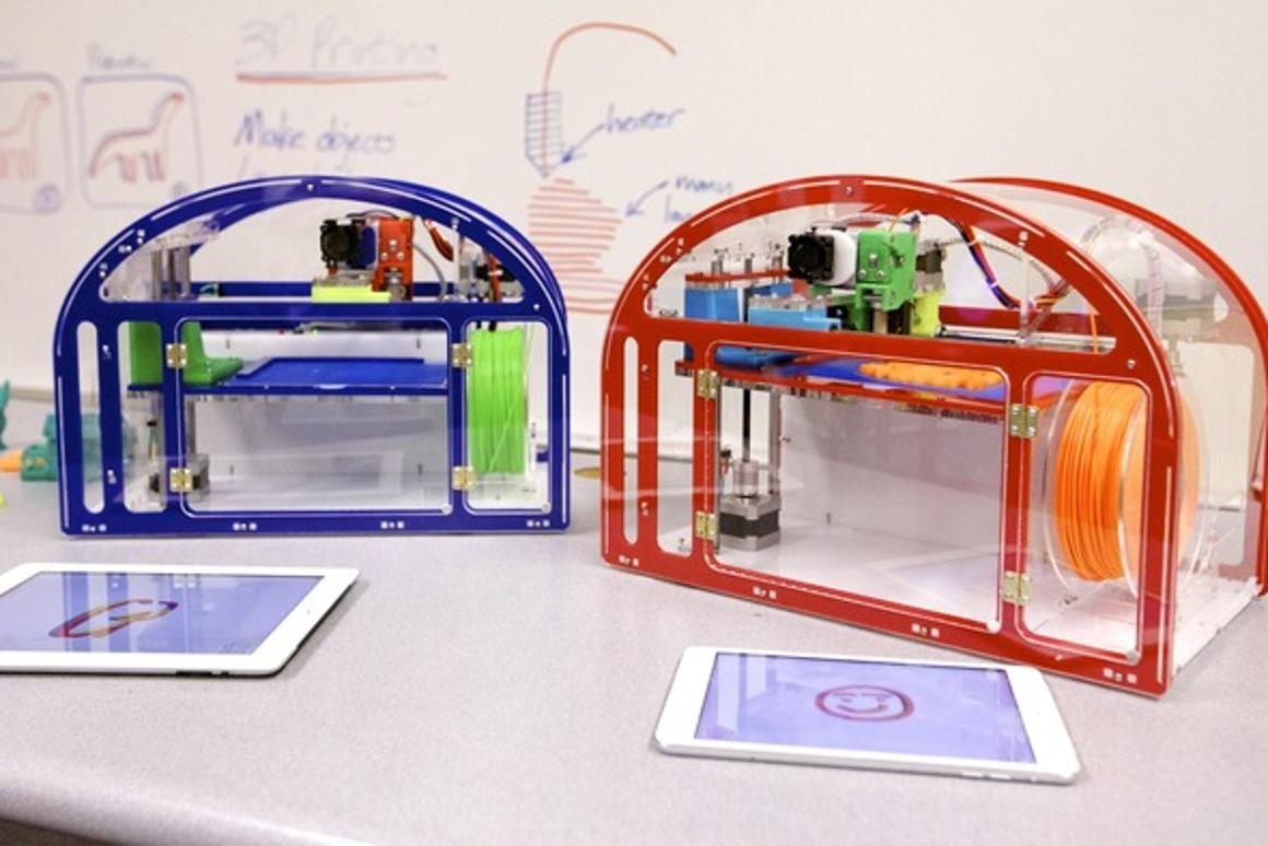 The Printeer 3D printer is designed to make 3D printing accessible to children