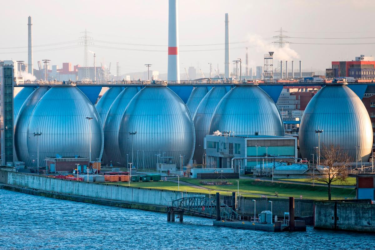 An existing desalination plant in Hamburg, Germany