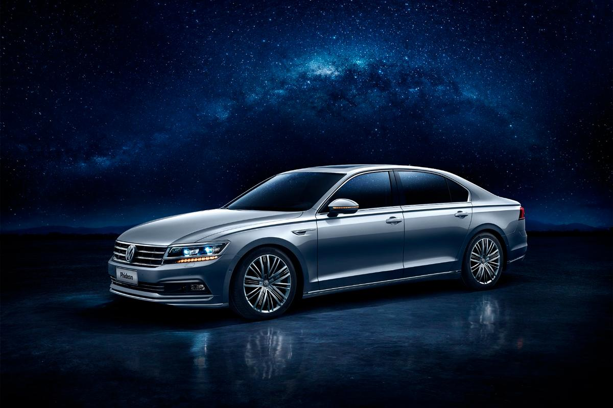 Instead of chasing European sales, VW has aimed straight at China with the new Phideon limousine
