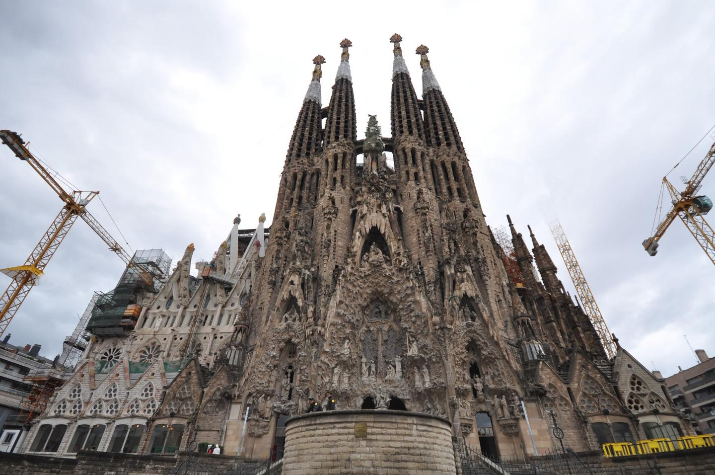 La Sagrada Familia is expected to be completed in 2026