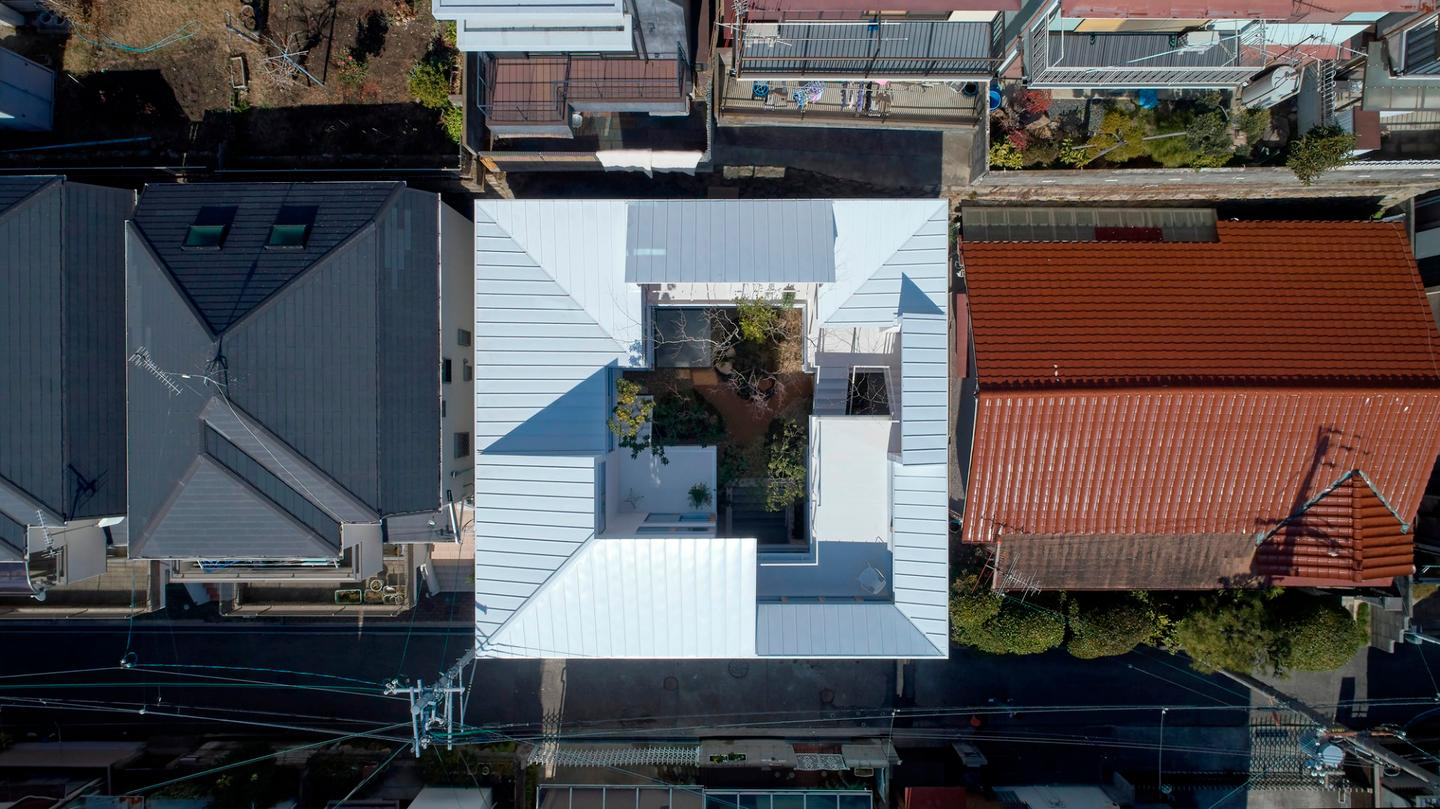 The Loop House, from above