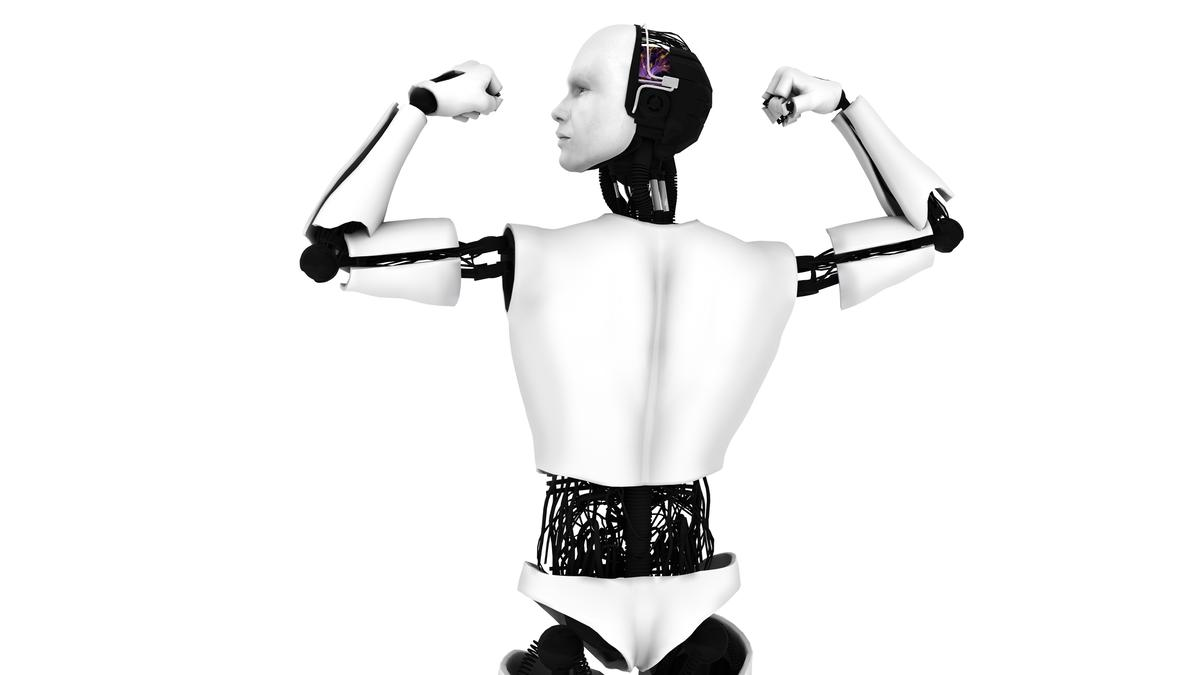 Robots with artificial muscles would have superhuman strength (Image: Shutterstock)