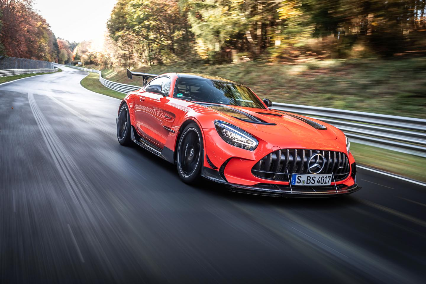 Mercedes-AMG has wasted little time in showing what the GT Black Series can do
