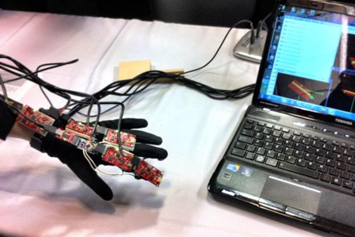 McGill University Biomedical Sensor Glove (Photo: McGill University/Laurie Devine)