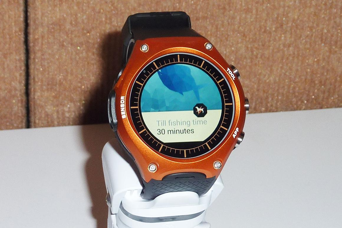The Casio WSD-F10 Smart Outdoor Watch is an Android Wear device