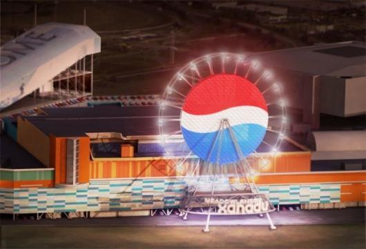 The Pepsi Globe Ferris Wheel