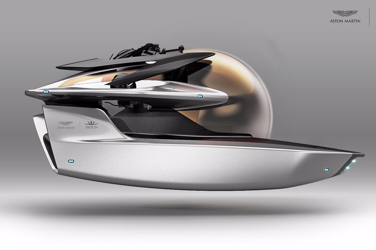 Aston Martin style, Triton submersible know-how