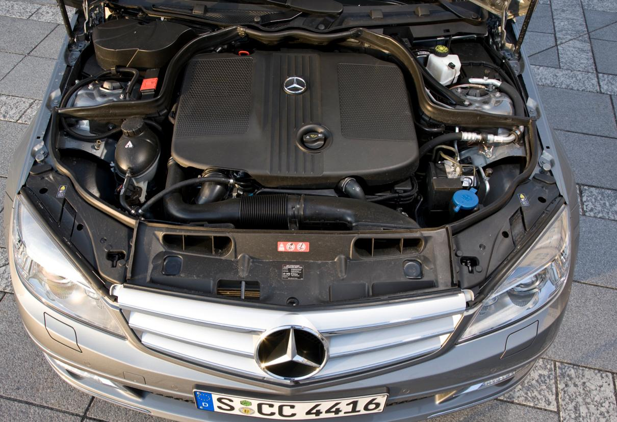 Mercedes C-Class models - better fuel efficiency with
