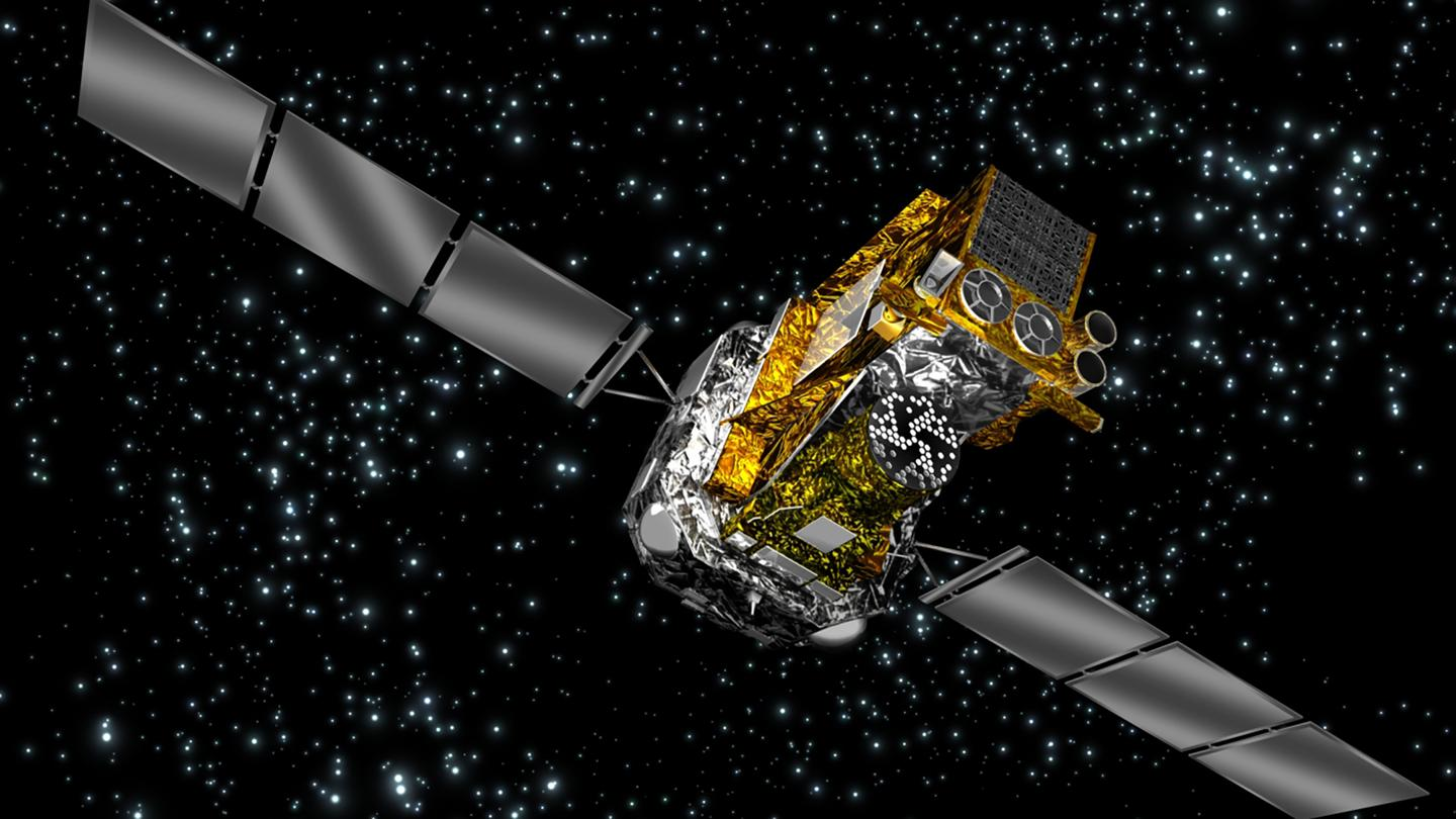 The ESA's Integral satellite will make its way back to Earth in 2029 (Image: ESA/Medialab)