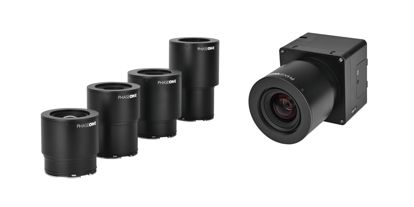 Four new RSM lenses have launched alongside Phase One's iXM 100MP metric camera
