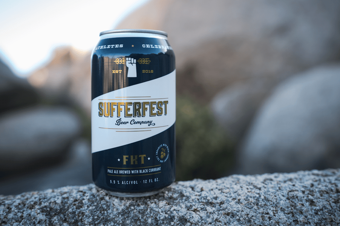Each can of Sufferfest's FTK Pale Ale contains 96 mg of sodium