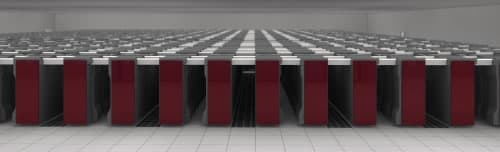 "Fujitsu's new supercomputer is nicknamed the 'K', a reference to the Japanese word ""Kei,"" or 10 to the 16th power."
