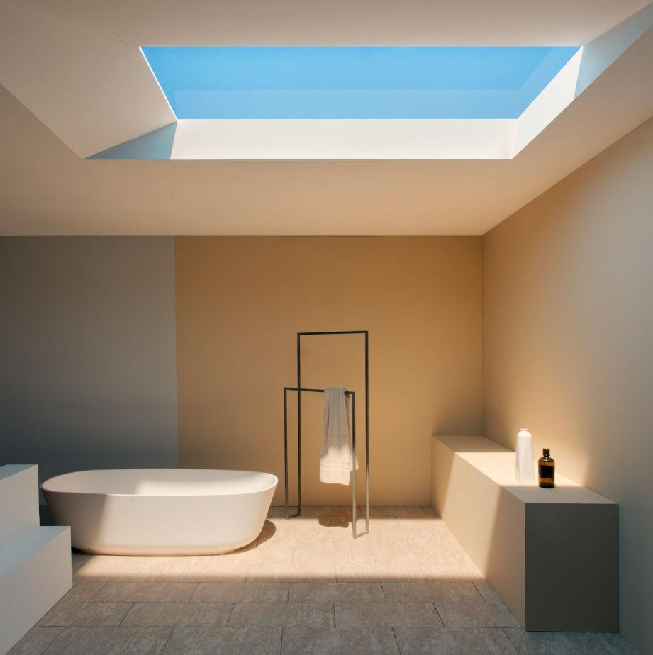 CoeLux is designed to recreate the sky as it exists beyond the walls and ceilings of enclosed spaces to help those suffering from seasonal affective disorders