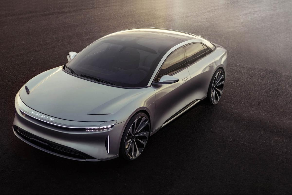 The Lucid Air is squarely targeted at the Model S, with a focus on matching or bettering its performance with alower price tag