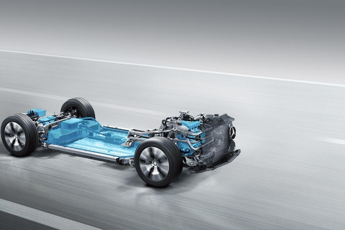 Mercedes will use this platform to underpin its future electric cars
