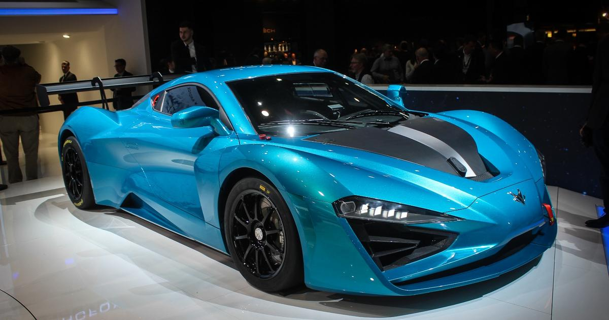 The Arcfox GT: China's 1,600-horsepower all-electric hypercar