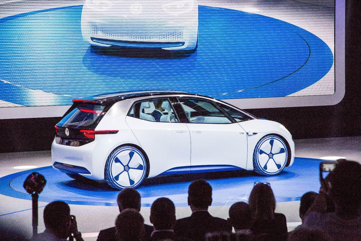 The Volkswagen IDpoints toVW's electric future