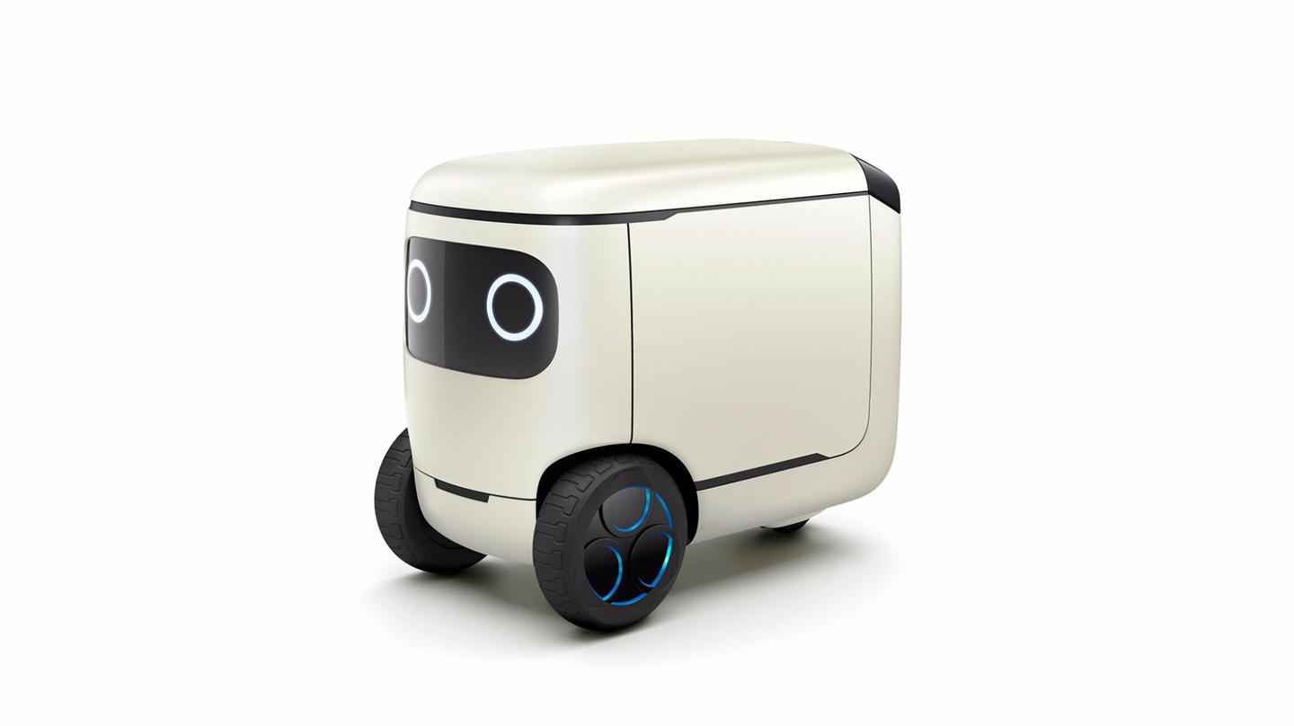 "Honda gives the RoboCas a set of eyes to make it more ""human"""