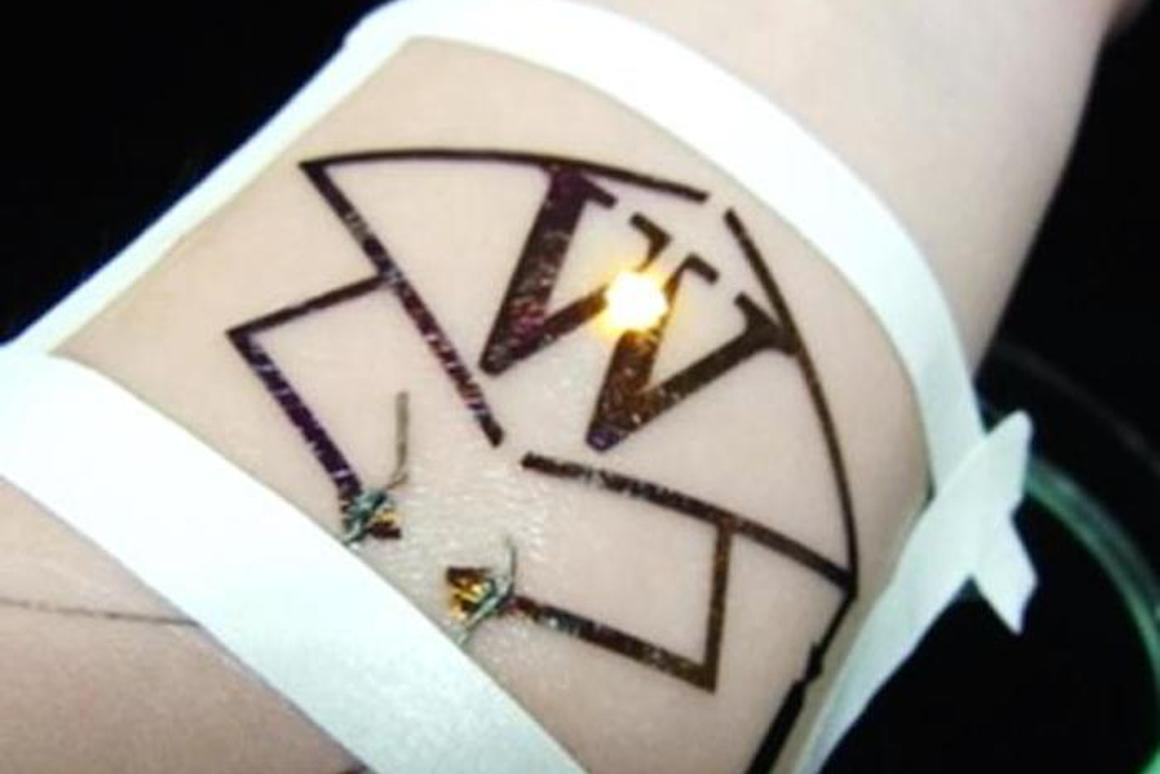 Japanese researchers have developed an easy, inexpensive way to manufacture electronic tattoos, printing the circuitry with a basic inkjet printer