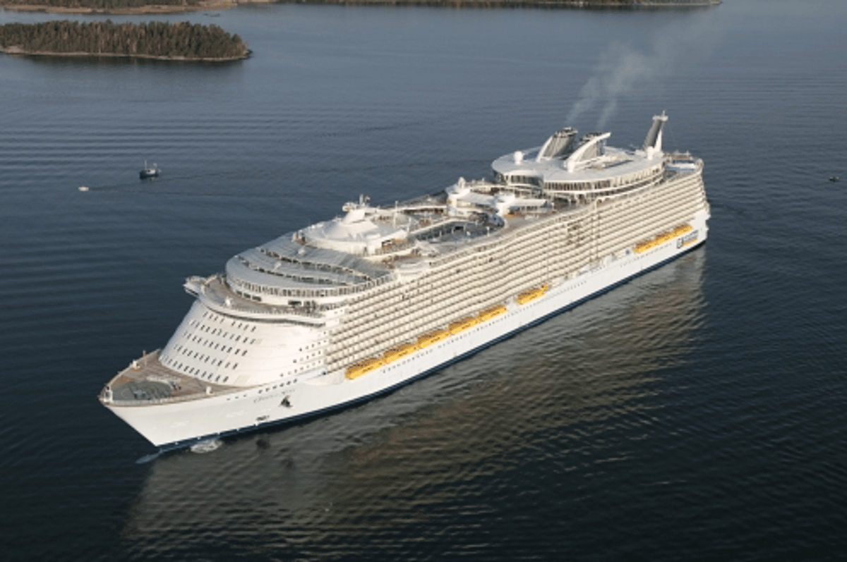 Oasis of the Seas - world's largest cruise liner
